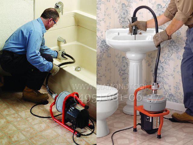 Чистка канализации в частном доме своими руками